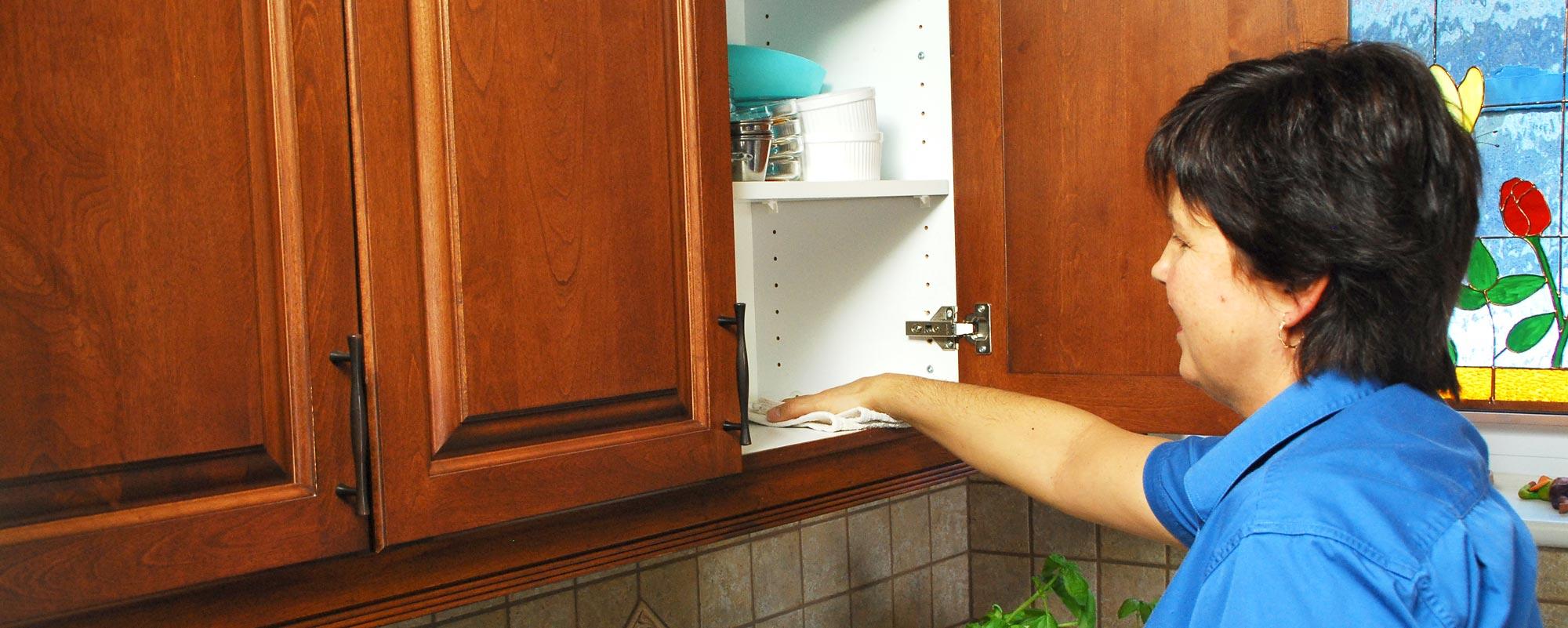 Services - nettoyage des armoires