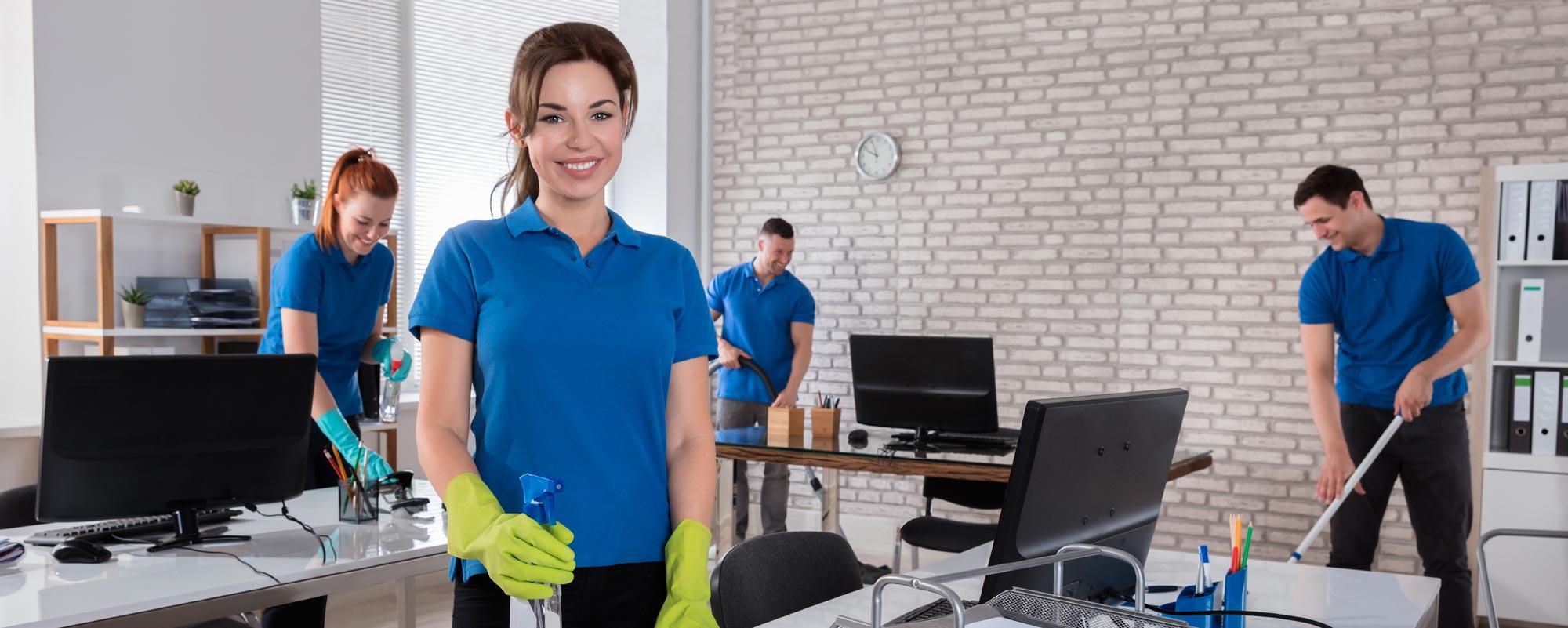 Entretien ménager résidentiel commercial et industriel photo