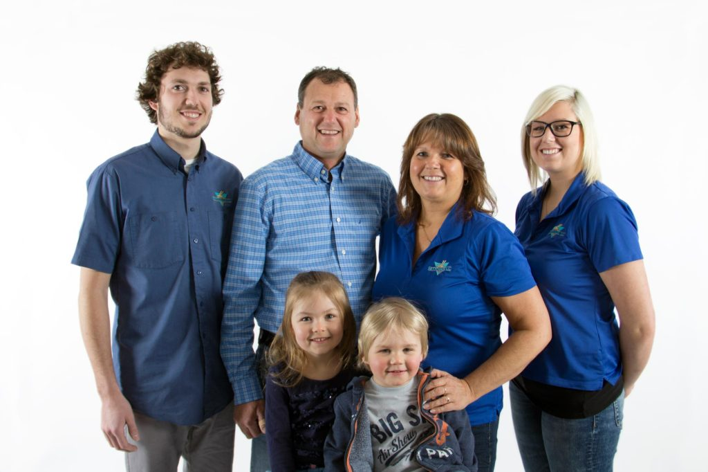 Photo famille Nettoyage JL